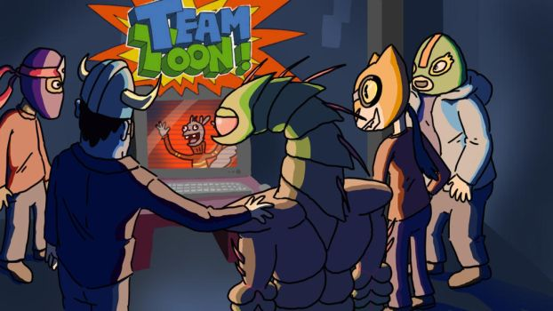 Team Toon Title Card by TheFlumpyTripod