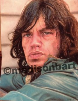 Mick Jagger Drawing by Chicoandpaco1