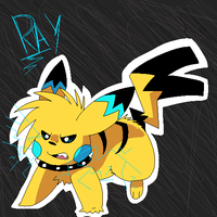 Pissed off Rocketchu by Thiefing