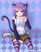 Commission: Neko Mizore by Sarumaneyarou