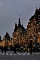 GUM on Red Square by Lyutik966