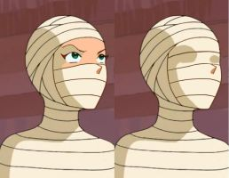 Totally Spies - Sam Wrapped by mummiesnstuff
