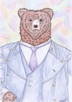 Papa Bear by littleduth