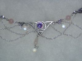 Celtic knot circlet commission by dragonphysic