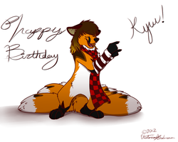Happy escape from the womb day Kyuubi! by Capntoria