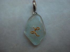 Sea glass charm L by SourKiss