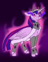Evil Empress Twilight Sparkle by Dragon-Mordak