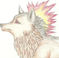 Typhlosion Wolf by DL2288