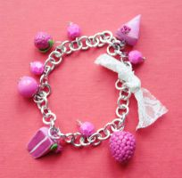 raspberry bracelet by hmisha