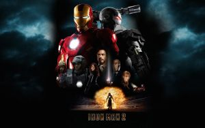 Iron Man 2 Poster Wall Mix 4 by rehsup