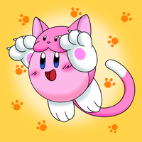 Kitty Kirby by PerfectPinkWater