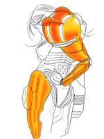 Sexy Samus WIP by Mercurian