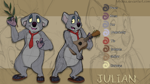 Julian the Koala by Totchka