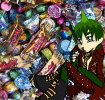 Amaimon with Candy by bigtimetransfan27