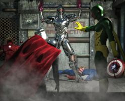 Age of Ultron by hiram67
