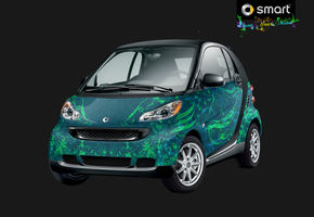 Smartcar - Eekobird blue-green by alizarinerose
