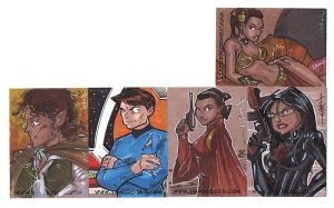 LIVE Sketch cards 01 by Hodges-Art
