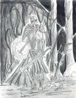 The Undying Knight by wyvernX