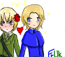 Iscribble FrUk by Coyoteclaw11