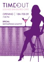 opening cafe flyer front by schnubbidubi