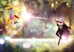Fairy's Swamp Wars by opcrom