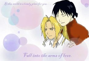 Fall into the arms of Love by Lina-kun