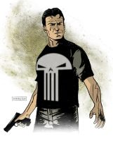 Frank Castle: Punisher by CartoonCaveman