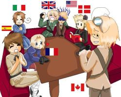 Hetalia: Karaoke Party by EdandAlphonseBros