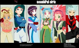 Tenchi girls! by xlilix