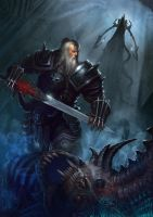 Barbarian for DIABLO III: REAPER OF SOULS FAN ART by Cynic-pavel