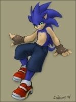 Nice shoes, Sonic by souldreamx