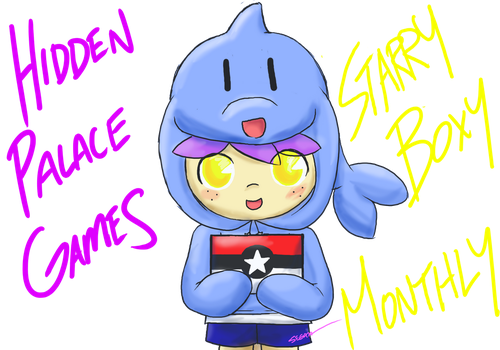 Hidden Palace Games - Starry Boxy Monthly by SEGAMew