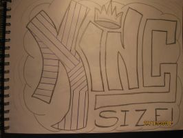 King Size - Drawing by MTVkiller