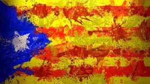 Catalonian Flag Wallpaper Rema by anonymouscreative