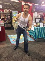 Phoenix Comicon 2014 Wolverine (3) by Demon-Lord-Cosplay