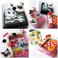 Contact Case sets by AndyGlamasaurus