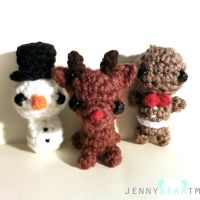 Christmas Amigurumi Ornaments! by jennybeartm