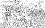 Teutonic Charge!! by partee6554
