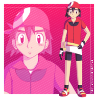Ash in Mays clothes by TheDarkShadow1990