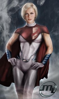 Powergirl From DC by MLauviah