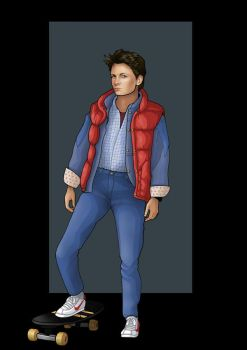 marty mcfly by nightwing1975