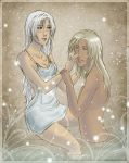 Misteria and Taho: love you by sionra
