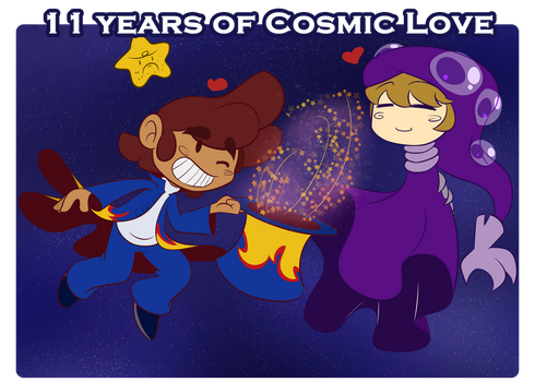 11 Years of Cosmic Love by Luckster