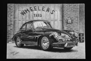 1963 Porsche 356B T-6 Coupe by orhano