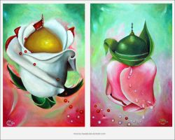Mohammed and Hussain by Moona-Heelal