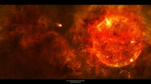 Hot like Hell - The Birth of a Planet by Sven1310
