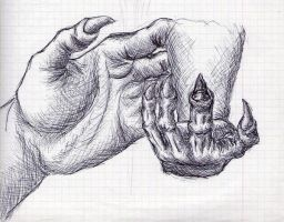 hands practice by Maslord