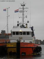 Luxembourg owned tug Mustang 2009- by dolfijn1962
