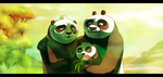Panda family. by Suzamuri