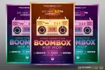 Hip Hop Flyer Free Psd Template by Thats-Design